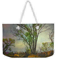 Weekender Tote Bag featuring the photograph Signs  by Mark Ross