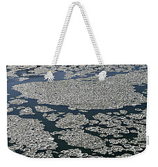 Signs Of Winter Weekender Tote Bag