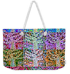 Silberzweig - Star Of David Fruit Tree -   Weekender Tote Bag