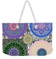 Silberzweig - Karma Mandela - Sapphire Rose - Weekender Tote Bag
