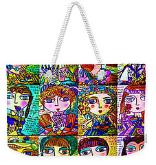 Silberzweig - Ladies Of Literature -   Weekender Tote Bag