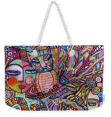 Silberzweig Tree Of Creation Goddess Spirit Weekender Tote Bag