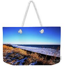 Silence At Black Sand Beach Weekender Tote Bag
