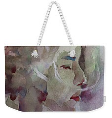 Wcp 1701 Silence Weekender Tote Bag by Becky Kim