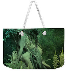 Silence Of The Night Weekender Tote Bag