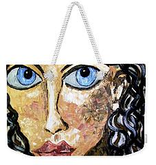 Silent Blue  Weekender Tote Bag