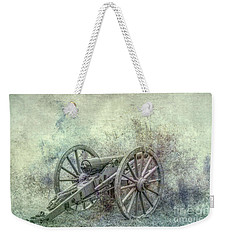 Weekender Tote Bag featuring the digital art Silent Cannon Field Of Fire by Randy Steele