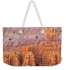 Weekender Tote Bag featuring the photograph Silent City Glow by Patricia Davidson