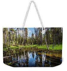 Silent Creek Weekender Tote Bag