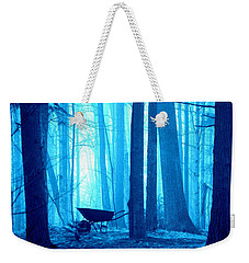 Weekender Tote Bag featuring the photograph Silent Forest by Al Fritz