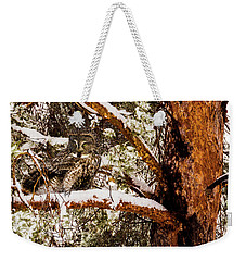 Silent Hunter Weekender Tote Bag