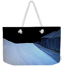Weekender Tote Bag featuring the painting Silent Night by Bill OConnor