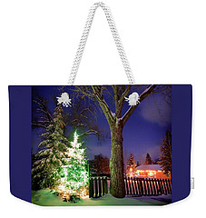 Weekender Tote Bag featuring the photograph Silent Night by Cat Connor