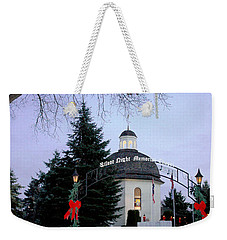 Silent Night Chapel Weekender Tote Bag