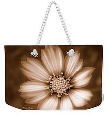 Silent Petals Weekender Tote Bag