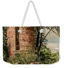 Silent Scandinavian Silo Weekender Tote Bag by Trey Foerster
