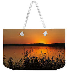 Silent Sunset Weekender Tote Bag