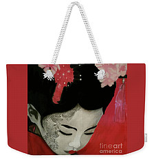 Silent Thoughts Weekender Tote Bag