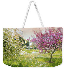 Weekender Tote Bag featuring the photograph Silent Wish You Make by Diana Angstadt