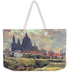 Silhouet Saint Lambertus Church Maastricht Weekender Tote Bag