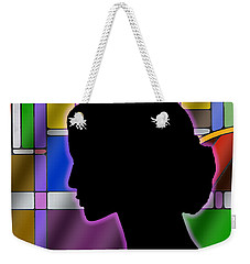Silhouette Weekender Tote Bag by Chuck Staley