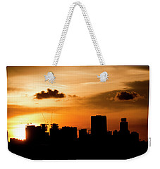 Silhouette City Weekender Tote Bag
