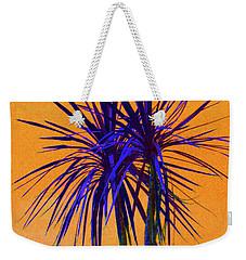 Silhouette On Orange Weekender Tote Bag