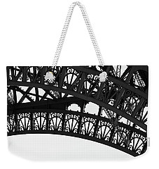 Weekender Tote Bag featuring the photograph Silhouette - Paris, France by Melanie Alexandra Price
