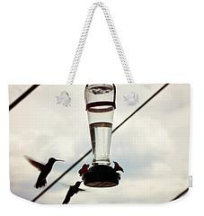 Silhouette Weekender Tote Bag