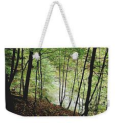Silhouetted Trees Weekender Tote Bag