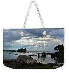 Silhouetted Views From Bustin's Island In Maine Weekender Tote Bag