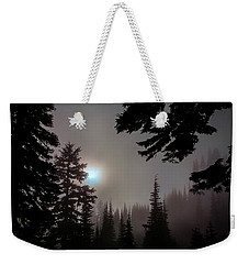 Silhouettes In The Mist 2008 Weekender Tote Bag