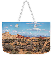 Silica Dome - Valley Of Fire Weekender Tote Bag
