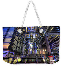 Silk And Steel 1.0 Weekender Tote Bag