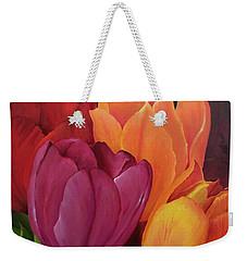 Silky Tulips Unite  Weekender Tote Bag