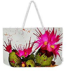 Silly Cactus Weekender Tote Bag