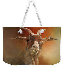 Silly Goat Weekender Tote Bag
