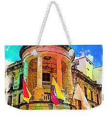 Silly Hall, Cuenca, Ecuador Weekender Tote Bag by Al Bourassa