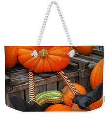 Silly Pumpkin Weekender Tote Bag