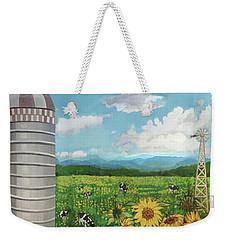 Silo Farm Weekender Tote Bag