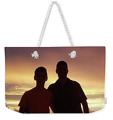 Silouettes Weekender Tote Bag by Val Oconnor