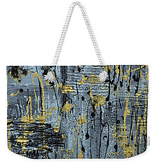 Silver And Gold  Weekender Tote Bag by Cathy Beharriell