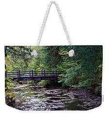 Silver Creek Falls #38 Weekender Tote Bag