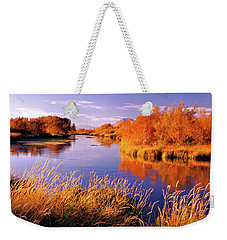 Silver Creek Fly Fishing Only Weekender Tote Bag