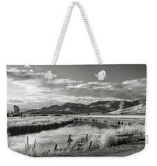 Silver Creek Weekender Tote Bag