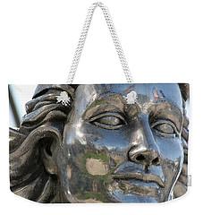 Silver Delores Del Rio Weekender Tote Bag