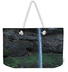 Weekender Tote Bag featuring the photograph Silver Falls by Thomas J Herring