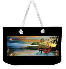 Silver Lake Weekender Tote Bag