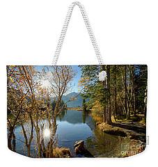 Silver Lake In The Sierras Weekender Tote Bag
