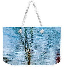 Silver Lake Tree Reflection Weekender Tote Bag